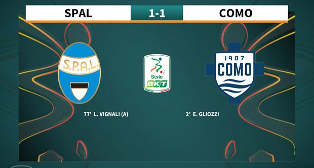 9a giornata Serie BKT 2021/2022 – Spal – Como