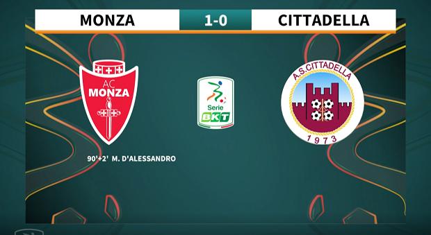 9a giornata Serie BKT 2021/2022 – Monza – Cittadella