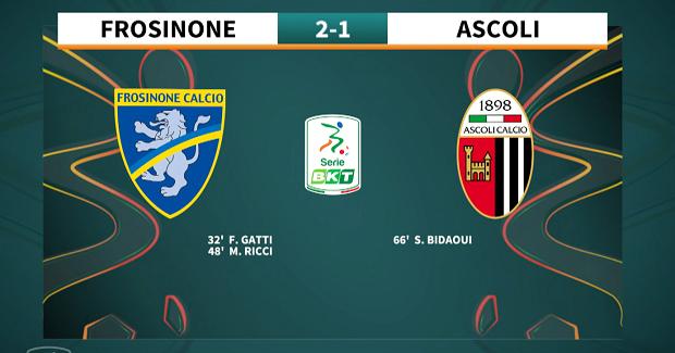 9a giornata Serie BKT 2021/2022 – Frosinone – Ascoli