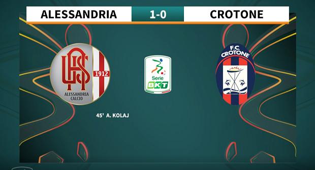 9a giornata Serie BKT 2021/2022 – Alessandria – Crotone
